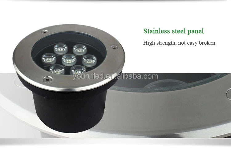 Aluminium Led Recess Underground Spot Garden Light Color Changing ...