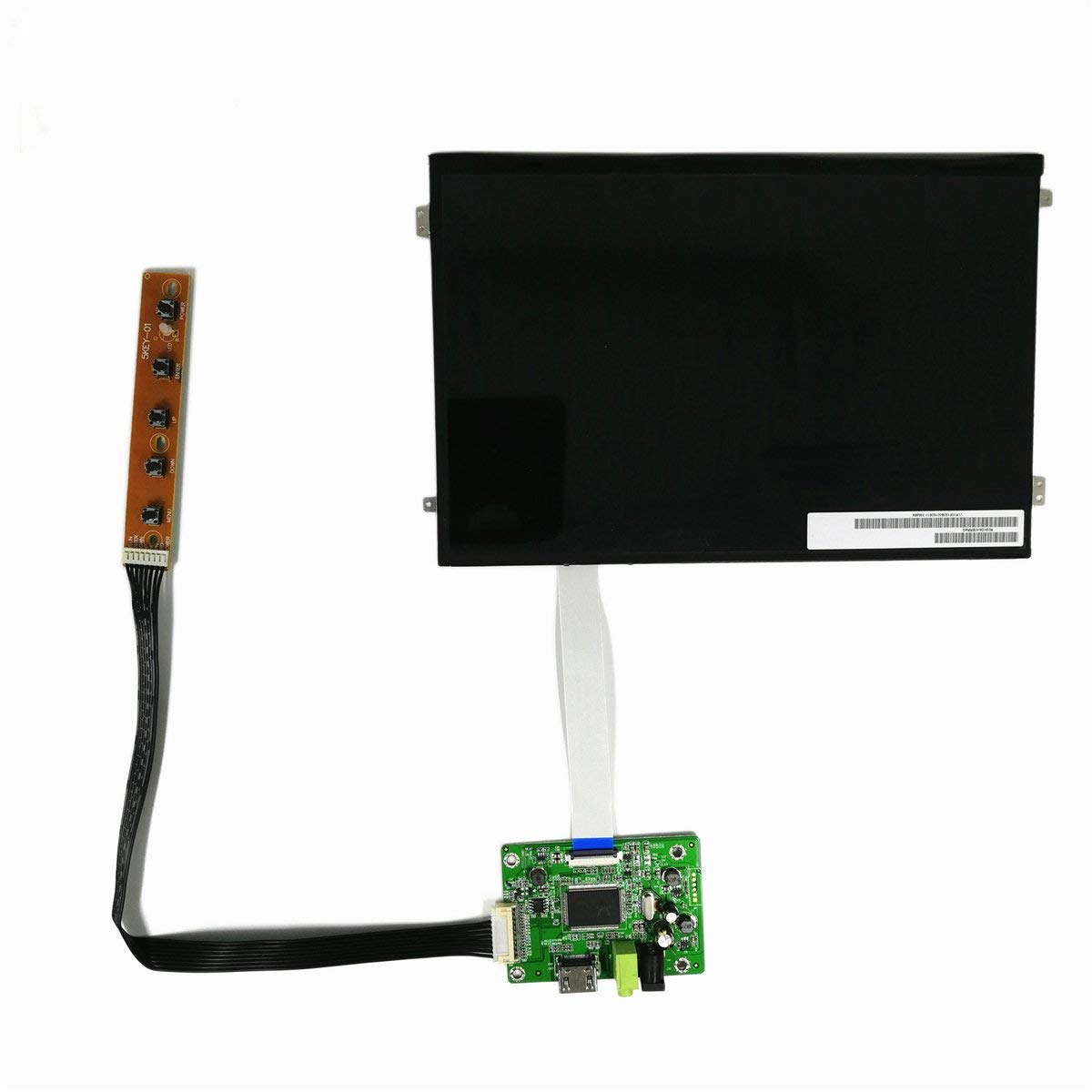 "Wearson 10.1"" inch LCD Monitor 1920x1200 IPS LCD Screen Panel Display with HDMI Driver Board Kit for Raspberry Pi B+/2B/3B etc"