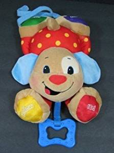 LIL Laugh & Learn Puppy Musical Baby Crib Toy Sing Play Fisher Price L7336 B129