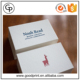 Custom printing high quality white fancy paper debossing name card printing