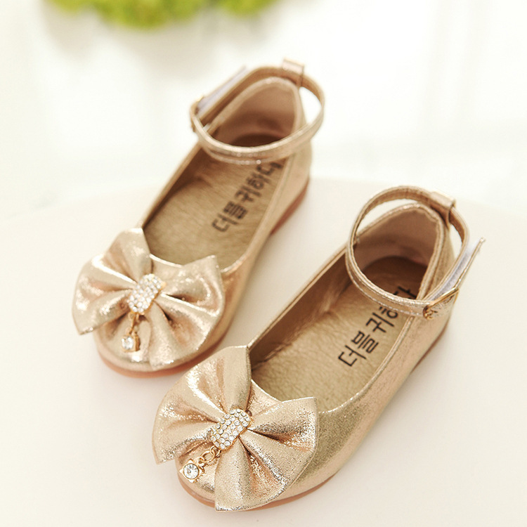 XH22149 Autumn style pretty bowknot design baby shoes