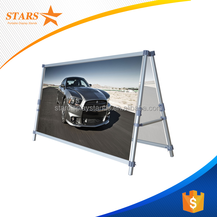 2017 Super Aluminum Outdoor Sign Banner Frame for Advertising