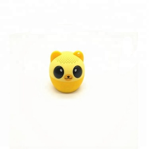 Mini Animal Pig Panda Cat Bear Mouse Dog Panda mini digital speaker