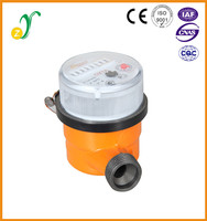 ISO4064 single jet sensorl small caliber water velocity meter