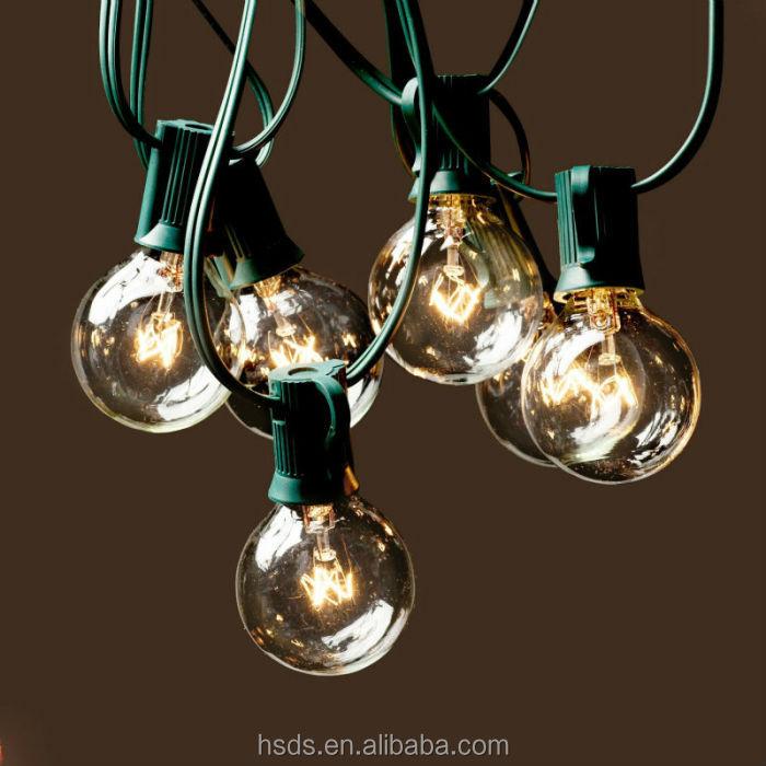 Street Decoration Light Chain Outdoor Globe Lights