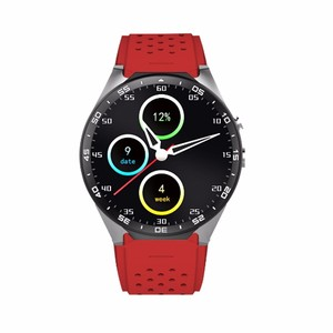 Real-time heart rate detector shenzhen smart kw88 support android 5 1