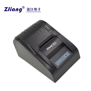 Serial thermal printer pos 58mm receipt printer with driver CD
