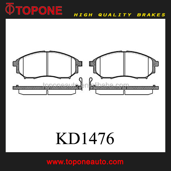 Auto Spare Parts for NISSAN/INFINITI Brake Pads KD1476 D888