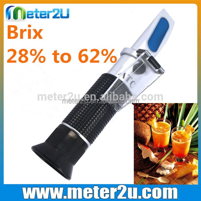 Brix 28% to 62% sugar inline shopping refractometer RHB-62ATC