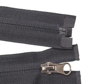 Whosale invertito in nylon aperte- fine zip in metallo cerniera