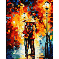 Latest Design Acrylic Wall Decor Diy Paint Adult Canvas Painting by Number