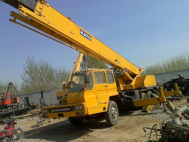 cheap price with good condition of japan original secondhand kato NK-350E 35t truck crane