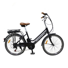 Chinese black 24 inches city import electric motor bike