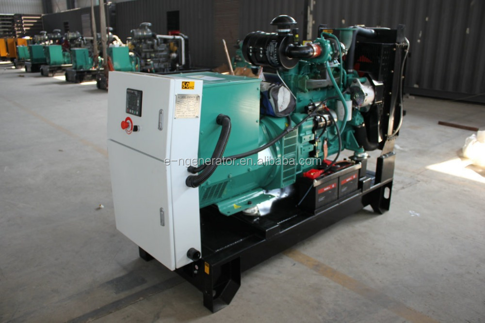 generator companies in china 25kw Power by CUMMINS Engine