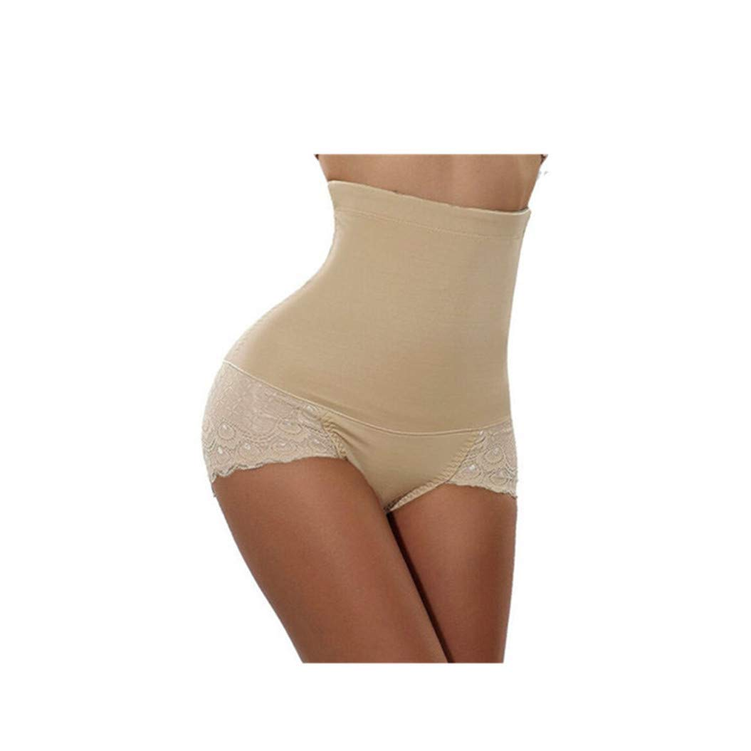 ASO-SLING Womens Hi-Waist Control Panties Balance Slim Lightweight Bodysuit