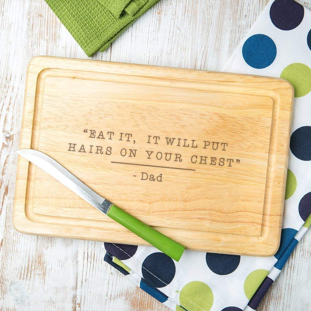 Get Quotations Personalized Wooden Dad Cutting Board Gifts For From Kids Funny