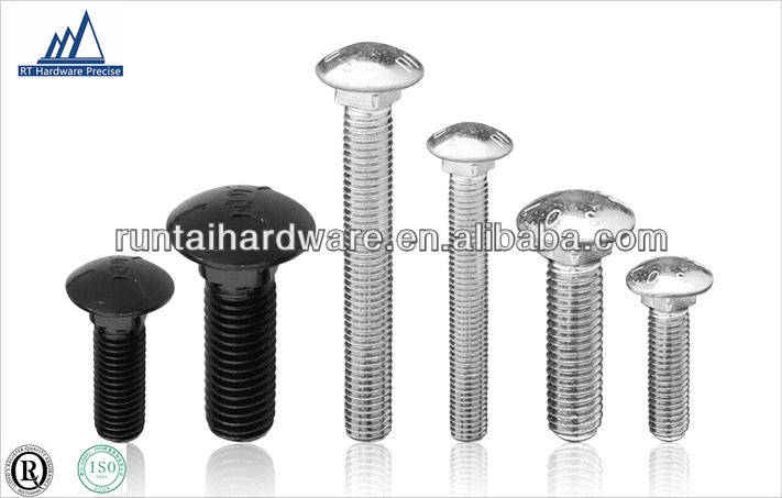 DIN 603 carriage bolts