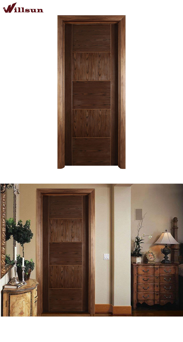 Chinese suppliers provide wholesale high quality solid wood door bedroom doors