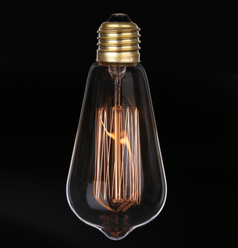 Whole Price 3000k Dimmable St64 Edison Light E27 Vintage Bulb