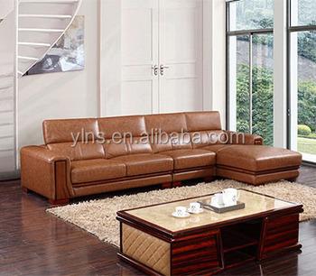 Clical Design 5 Seater Pu Leather Violino Vintage Corner Sofa