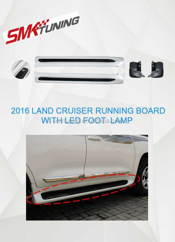 2016 TOYOTA LAND CRUISER RUNNING BOARD