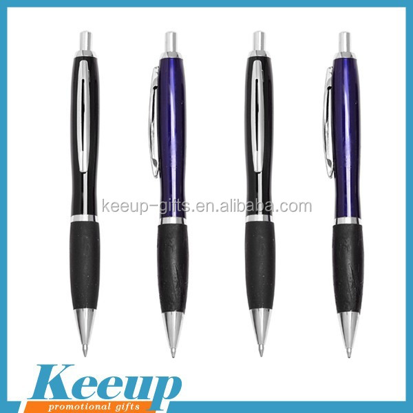 Promotional Metal Ball Pen With Clip Top