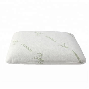 High Quality Bamboo Cover Neck Rest Bedding Memory Foam Bamboo Pillow