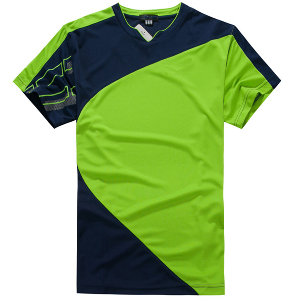 9712705e Badminton Jersey T-shirt,Sport T-shirt Fabric,Design Sports T-shirts ...