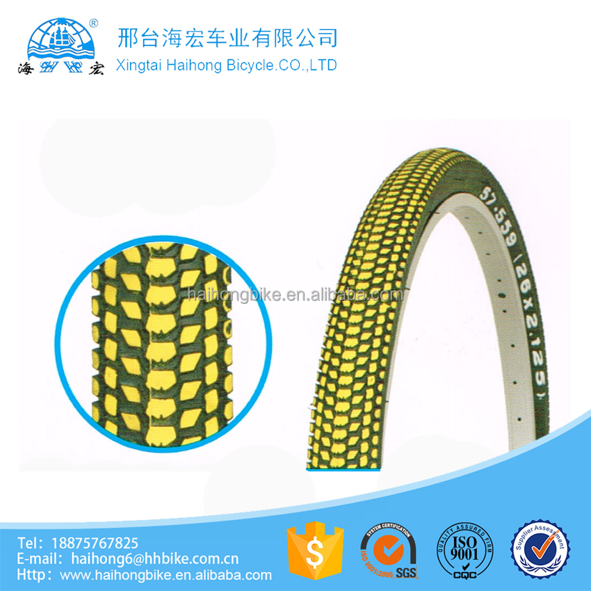 2016 bicycle tyre and tube mountain bike accessories color bicycle tyre prices