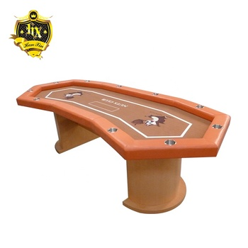 Octagonal Texas Poker Table