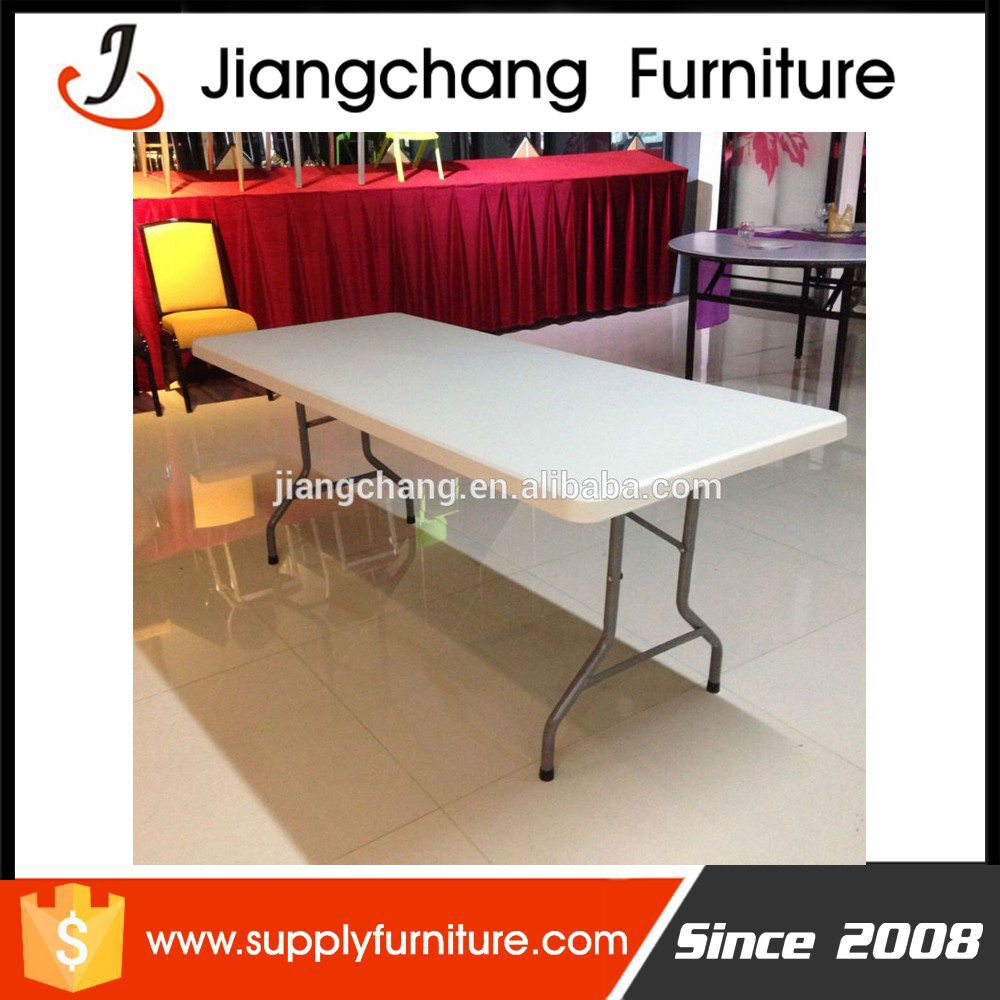 HDPE Material And Yes Folded Plastic Table Outdoor JC-T180