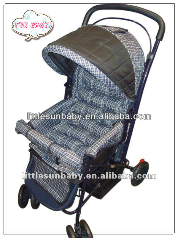 2013 Good baby stroller with steel wire to change the direction wire item 309
