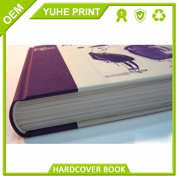 Fancy high quantity in custom's demand from guangzhou factory pantone color spiral binding case bound magic book printed