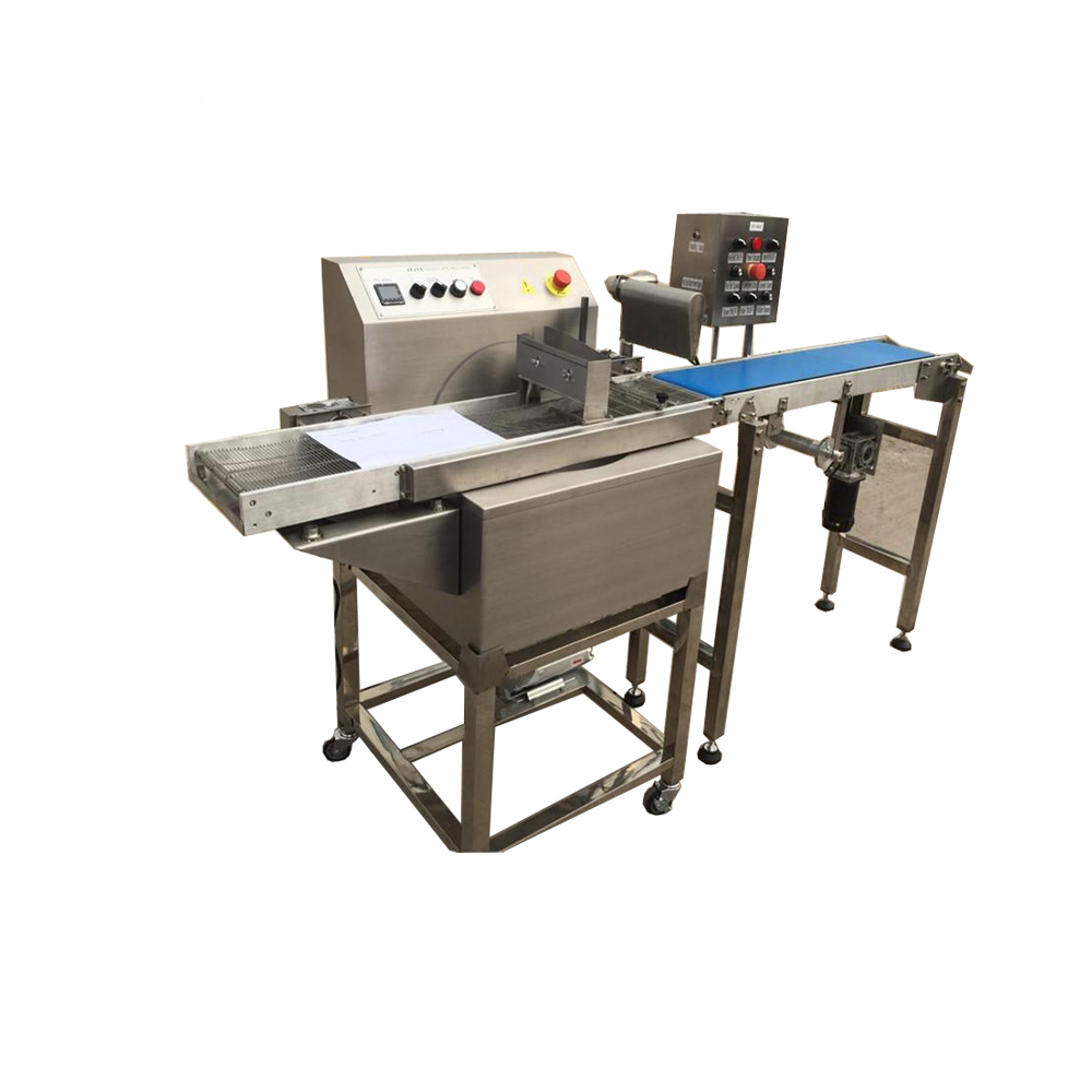 2018 Newest table top mini chocolate making machine/chocolate melting machine/chocolate enrobing machine