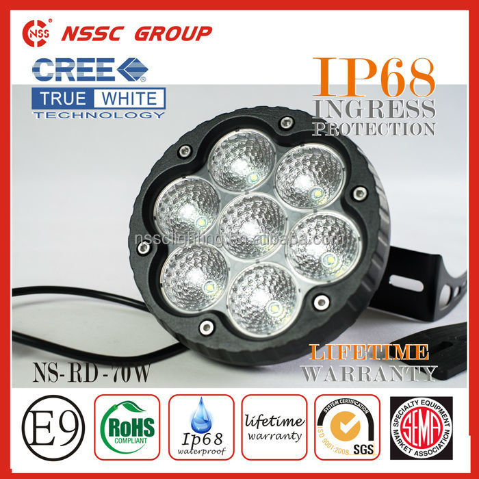 11000 Lumens lifetime warranty bright 70w flexible truck Led Work Light