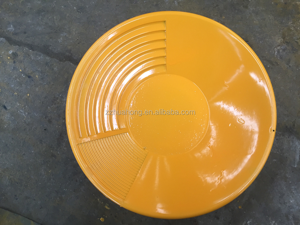 Plastic gold panning dish for Gold Rush Mining Miners