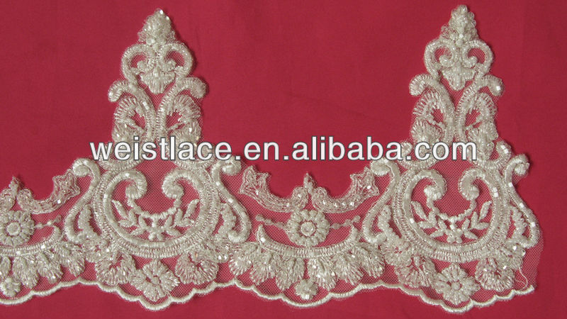 Beaded Lace Trim