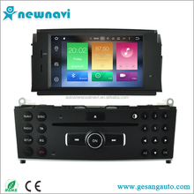 China factory best selling car audio player with GPS android car dvd for Mercedes-Benz C Class W204 2007-2011