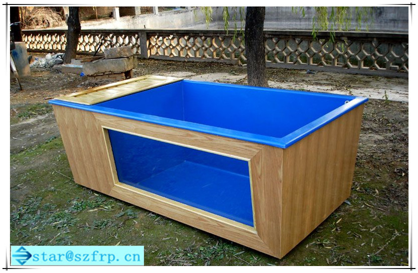 Fiberglass aquarium fish pond buy frp fish pond smc fish for Fish pond tanks for sale
