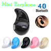 Mini Bluetooth Wireless sport earphone Invisible Smallest Wireless Earphones Earbuds headset with Mic For iPhone earphone