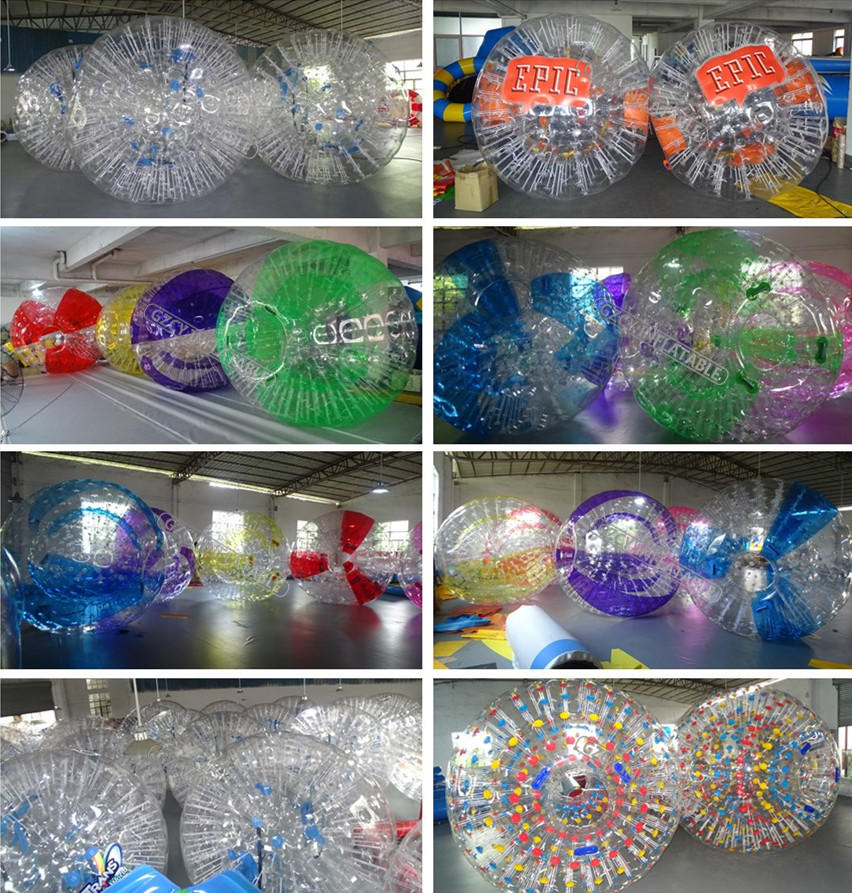Snow playing inflatable body zorb hamster ball /inflatable sport zorb ball