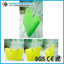 2014 wholesale silicone tote bag for woman/jelly bean bag/candy bag