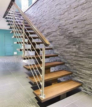 House Design Cable Barade Wood Steps Ladder