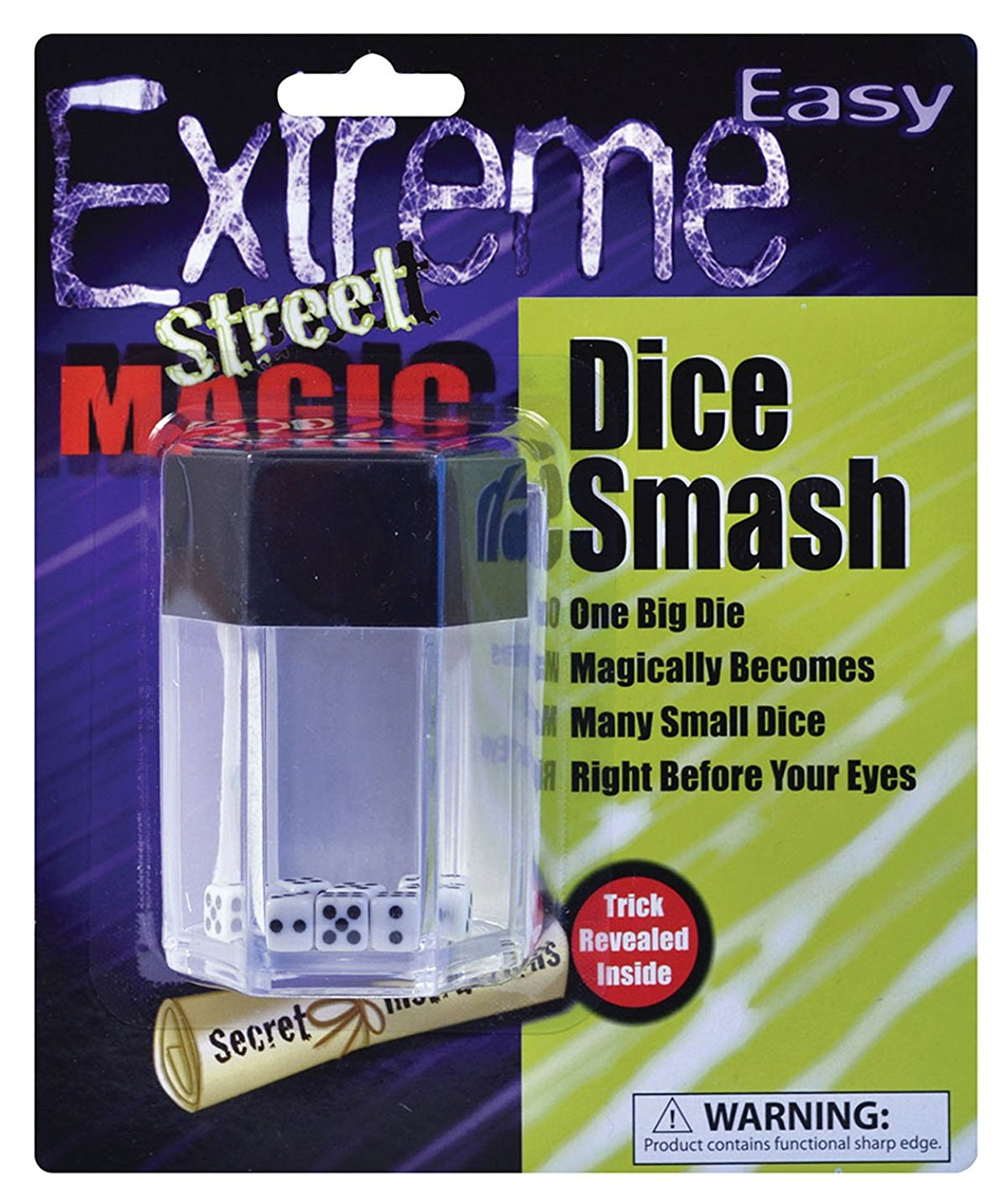 Magician Fun Accessory Joke Novelty Gift Bomb Explosion Magic Trick Dice Smash