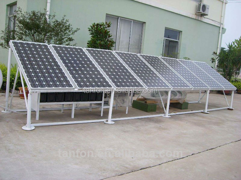 solar kit 220V 5KW DC power supply solar panel / 3KW 5KW 10KW solar energy system for container home / solar system engine