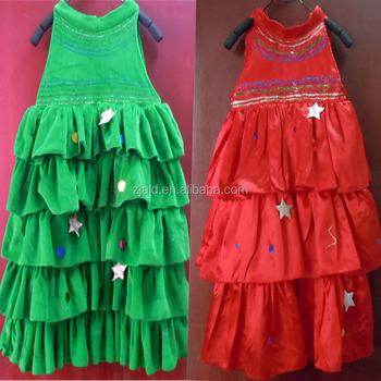 Kinder Weihnachten Baum Kleid Kostüm Für Weihnachtsfeier - Buy ...