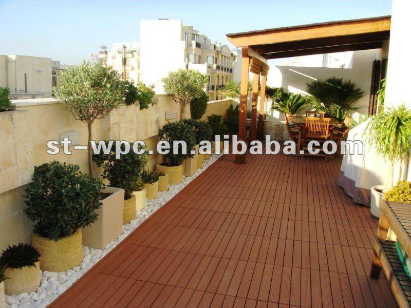 Wpc azulejos para terraza identificaci n del producto 525450437 - Azulejos para terraza ...