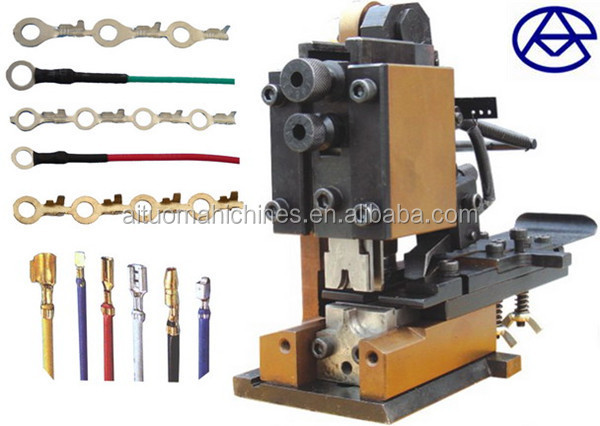 Cable Manufacturing Equipment, automatic crimp tool, terminal ...