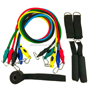 High elastic exercise loop bands and resistance tube for yoga training
