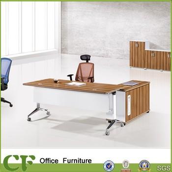 foldable office desk. cfd81607 office furniture modern foldablemovable desk with side cabinet foldable